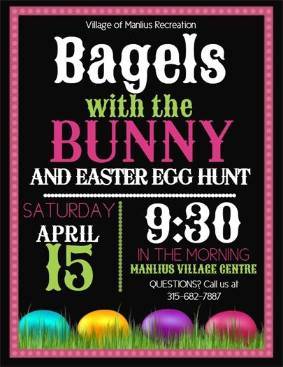 Bagels with the Bunny!
