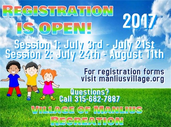 Registration for Summer Playground is Open!