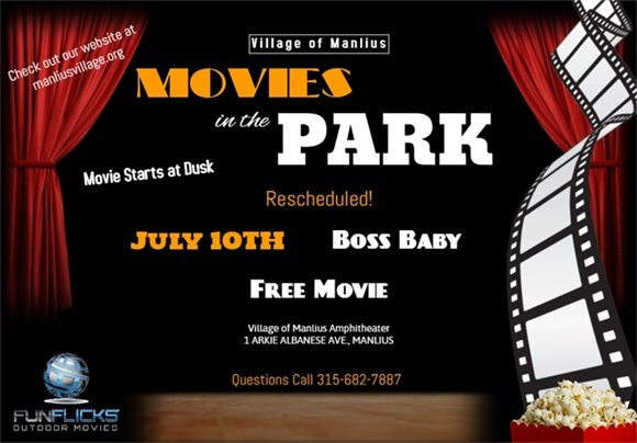 Boss Baby will be showing on July 10th!