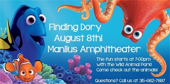 Showing Finding Dory!