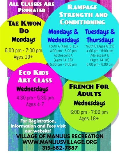Recreation Programs and Classes