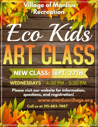 Eco Kids Fall Art Classes