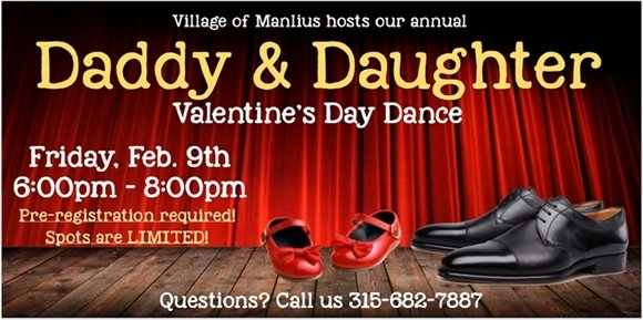 Daddy and Daughter Valentine's Day Dance