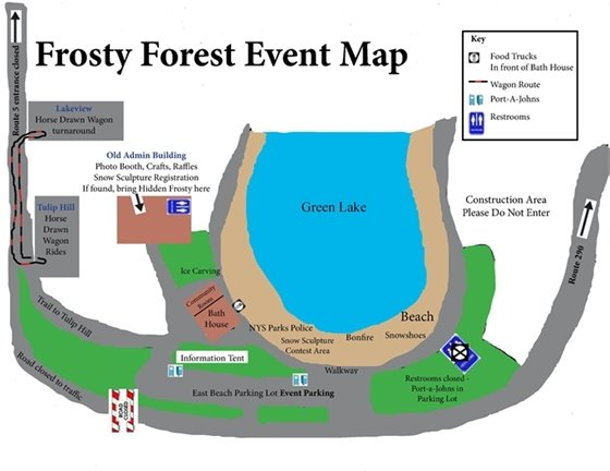 Frosty Forest Event Map