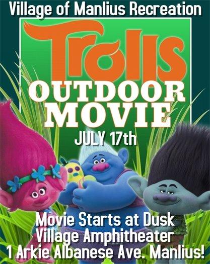 Outdoor Summer Movie Series