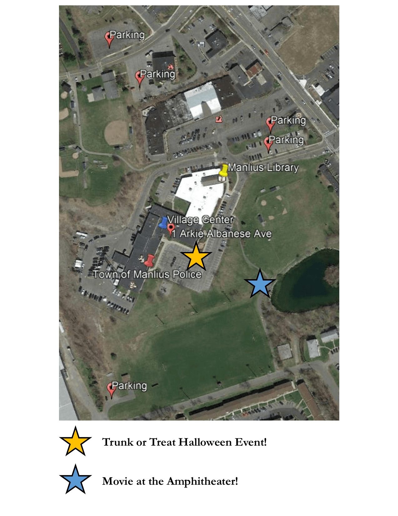 Parking for Trunk or Treat