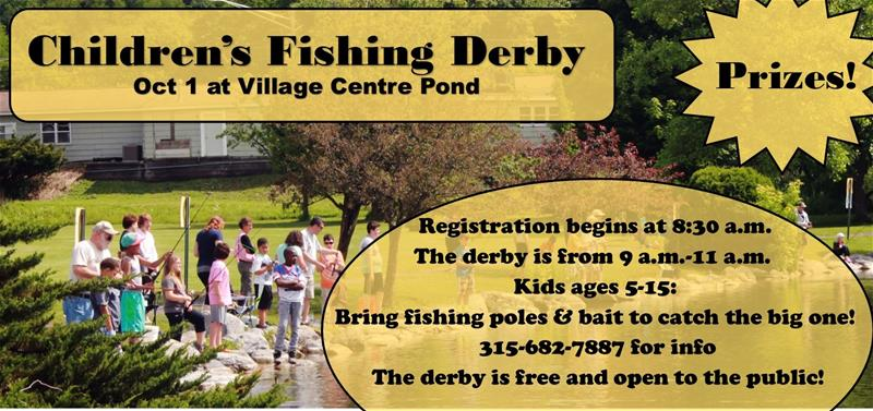Children's Fall Fishing Derby