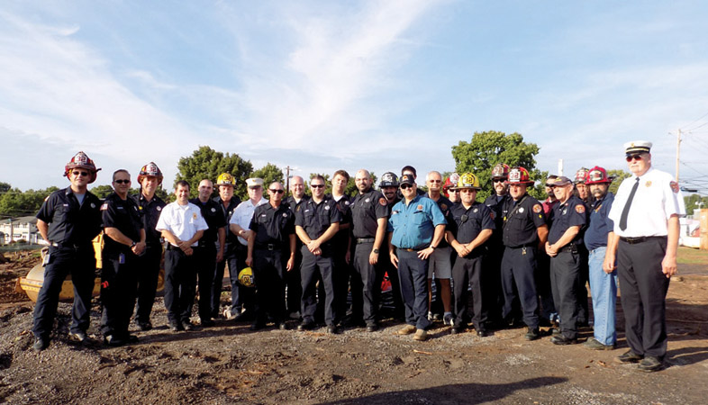 Manlius Fire Department Ground Breaking photo by Hayleigh Gowans